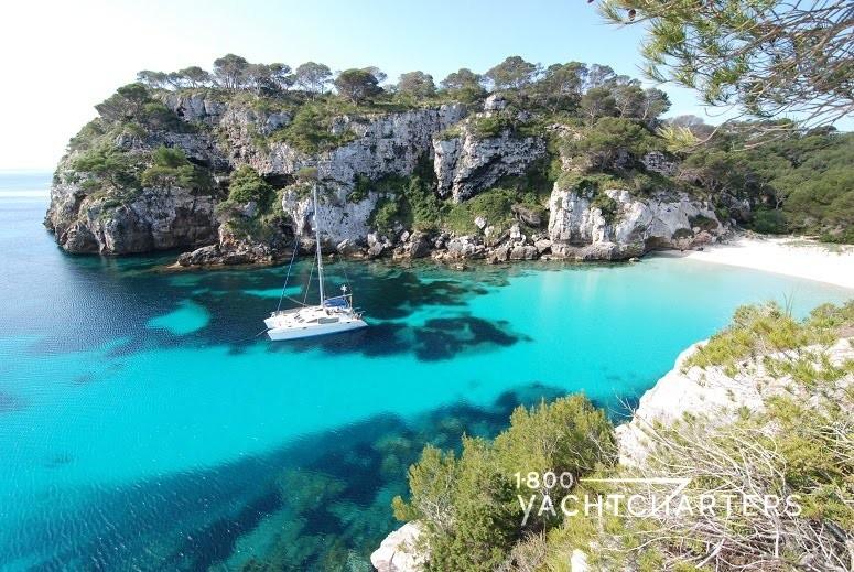 Balearic islands Menorca beach