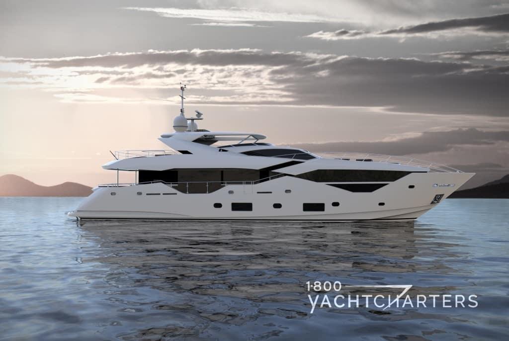 FLEUR sunseeker yacht charter motoryacht profile