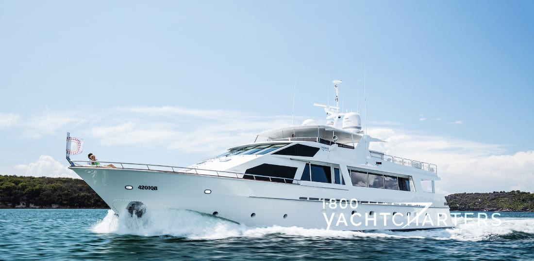 CORROBOREE yacht charter australia superyacht profile