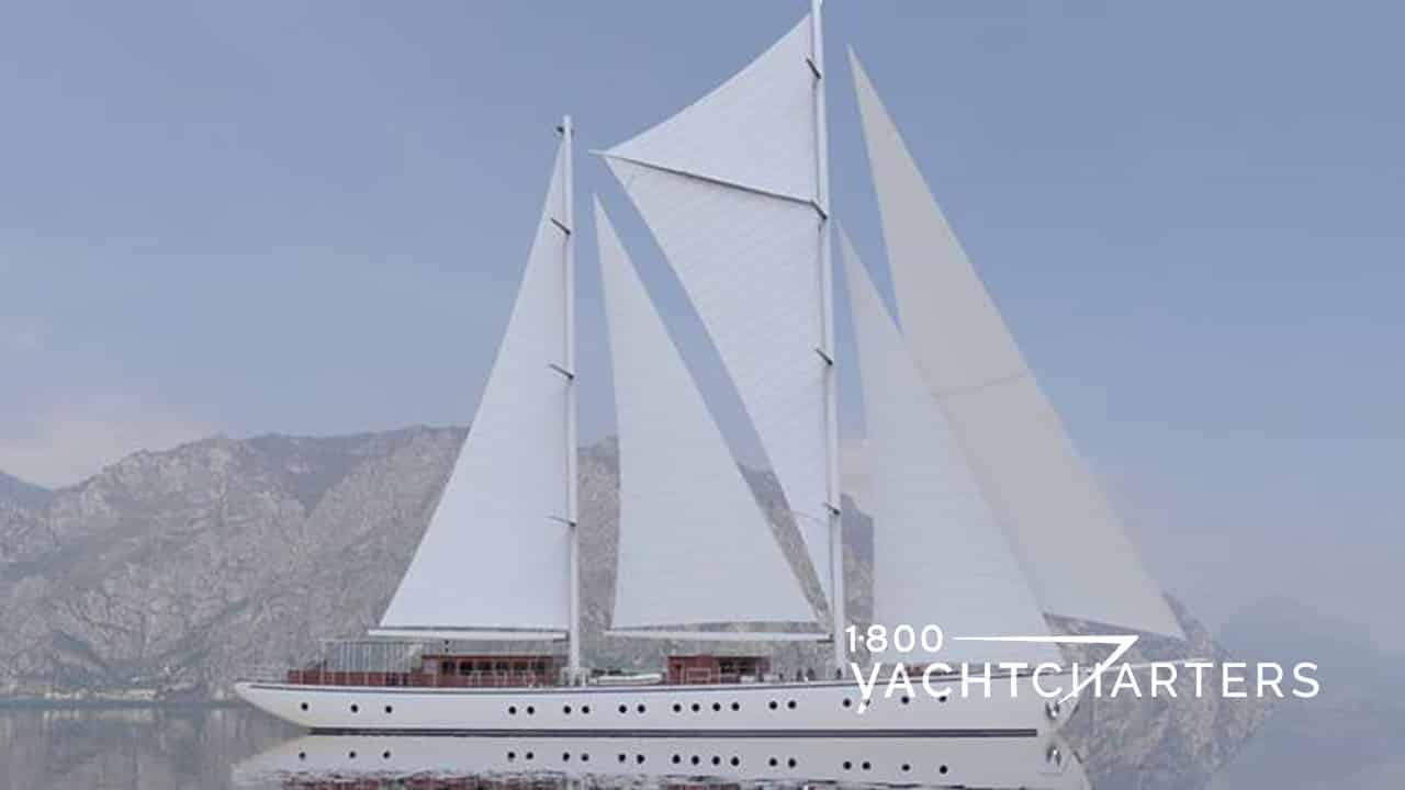 RHEA sailboat yacht charter profile