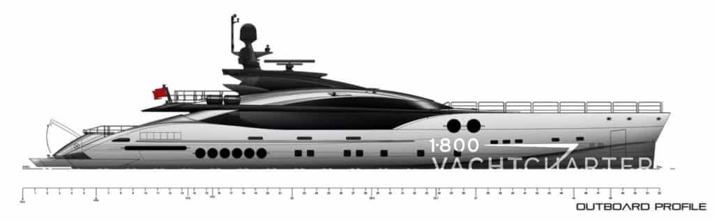 SANAM Yacht Charter Hopeful Palmer Johnson 170
