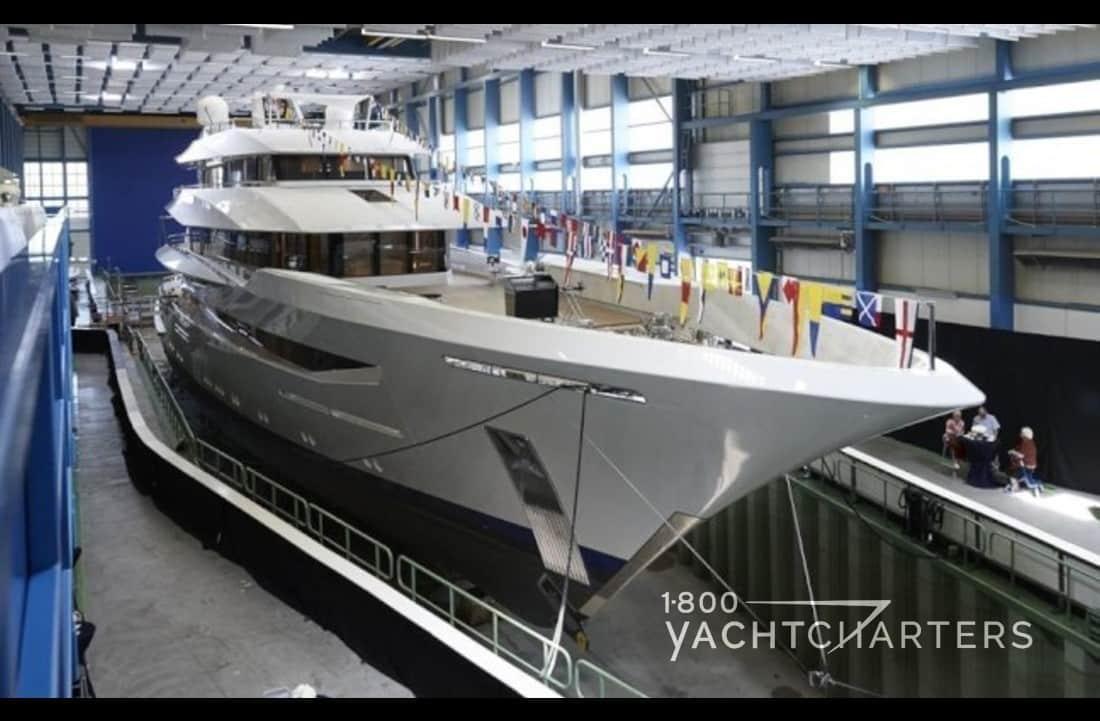 Joy yacht feadship launch