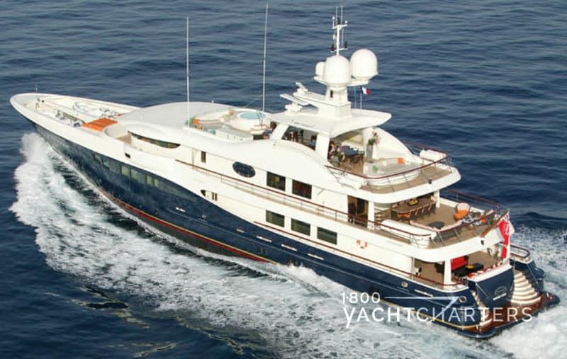 Yacht charter motoryacht DENIKI 171 foot Amels running