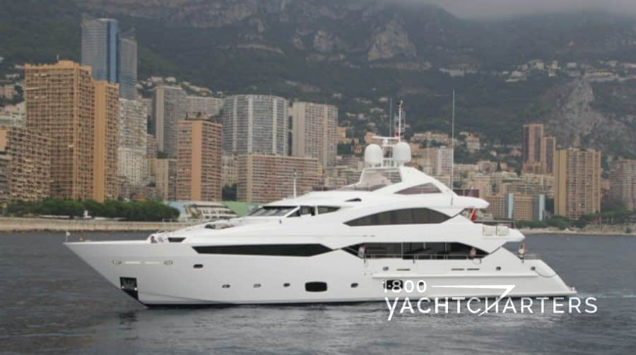 Luxury yacht charter Sunseeker THUMPER offering special rate for Ibiza yacht charters