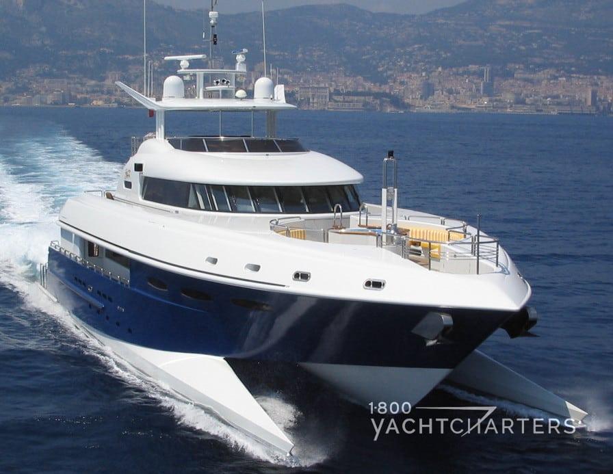 Spirit yacht running