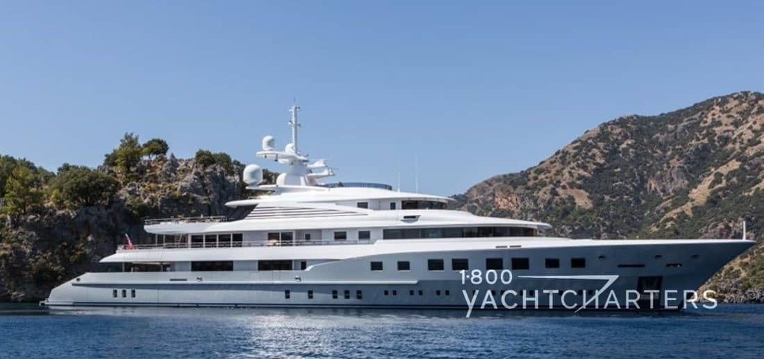 AXIOMA yacht side profile