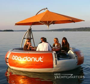 BBQ Donut towable watertoy