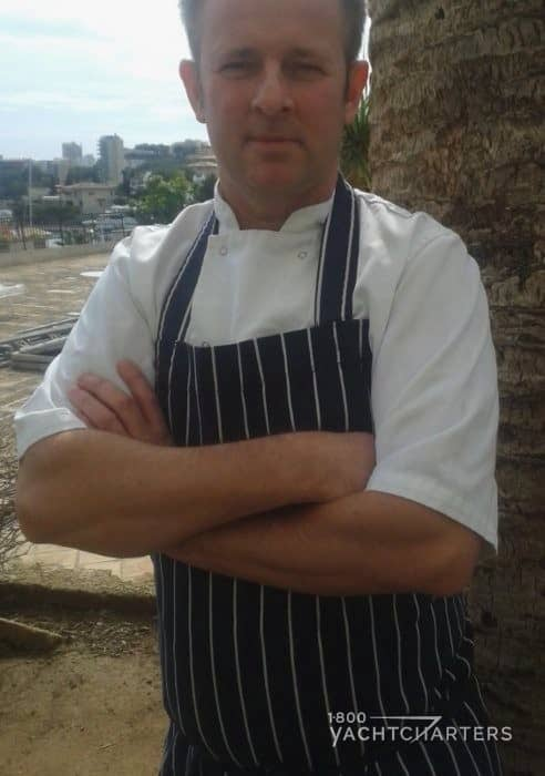 Yacht Charter Chef Jason Carruthers