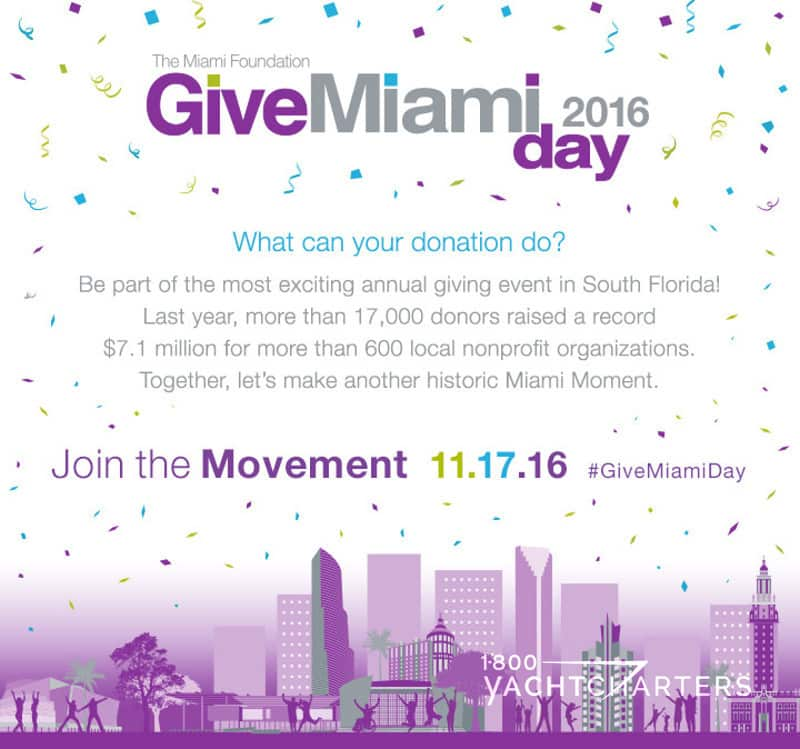 flyer for Give Miami Day