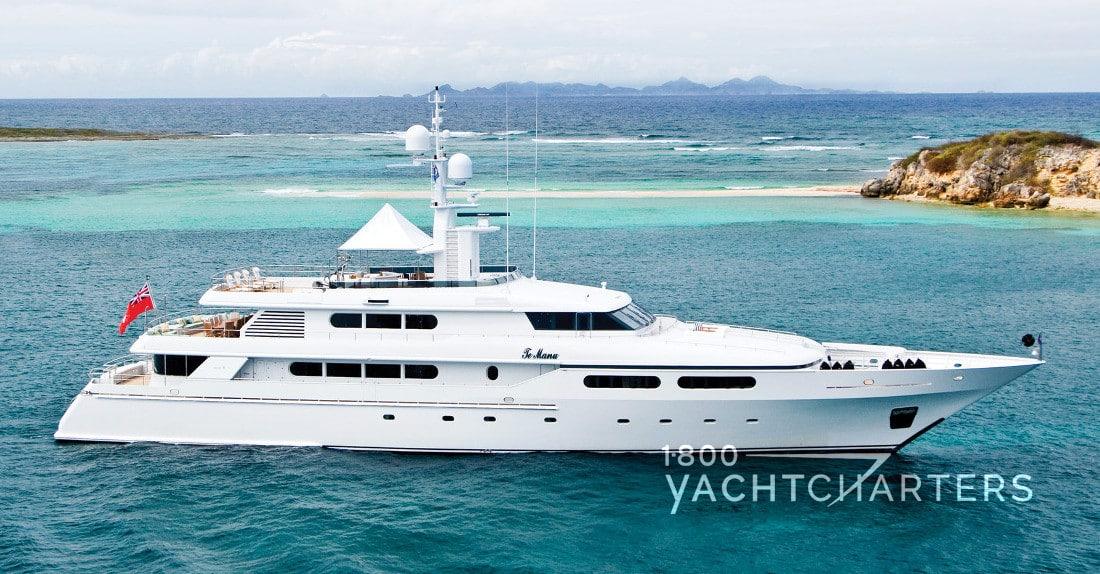 TE MANU yacht profile