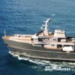 LEGEND ice breaker yacht underway