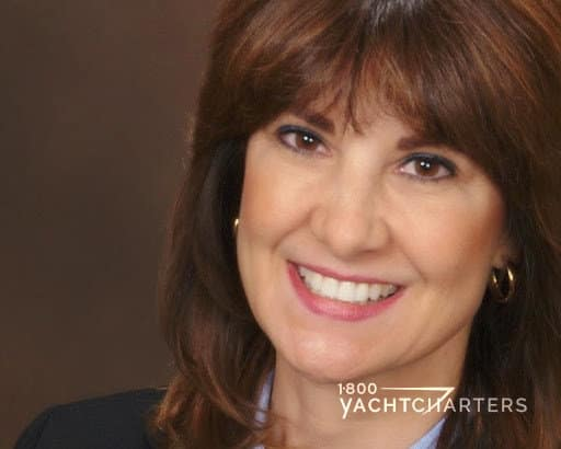Photograph of Jana Sheeder, President of 1-800 Yacht Charters