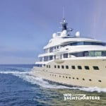 HERE COMES THE SUN motoryacht underway