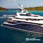profile of motoryacht solandge