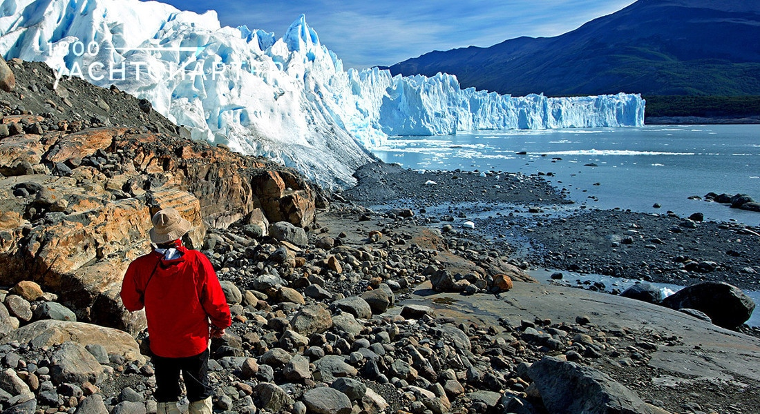 Patagonia glacier trek photo