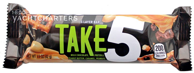 Image of a Hershey Take 5 candy bar wrapper
